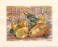 Fruit Stand Pears Fine-Art Print