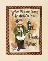 Drink Wine! Fine-Art Print