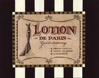 Lotion Label Fine-Art Print