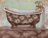 Tropical Bath II - mini Fine-Art Print