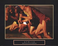 Strive - Race Fine-Art Print