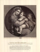 Madonna of the Chair, c.1514, (The Vatican Collection) Fine-Art Print