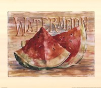Fruit Stand Watermelon Fine-Art Print
