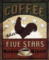 Coffee Blend Label III Fine-Art Print