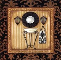 Black Veranda Bath II Fine-Art Print