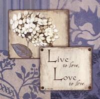 Live Love Fine-Art Print