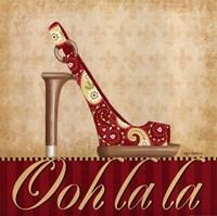 Ooh La La Shoe I Fine-Art Print