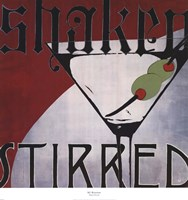 Shaken Stirred Fine-Art Print
