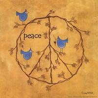 Twiggy Peace Fine-Art Print