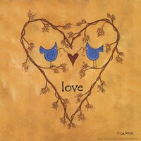 Twiggy Love Fine-Art Print