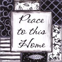 Peace to This Home Fine-Art Print