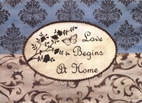 Love Begins at Home Fine-Art Print