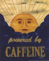 Powered by Caffeine Fine-Art Print