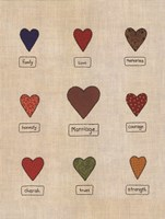 Marriage Hearts Fine-Art Print