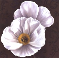 White Poppies II - mini Fine-Art Print