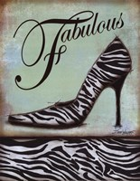 Zebra Shoe Fine-Art Print