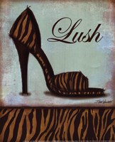 Tiger Shoe - mini Fine-Art Print