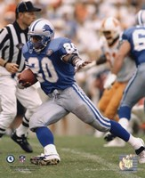 Barry Sanders - 1994 Action Fine-Art Print