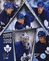 2009-10 Toronto Maple Leafs Team Composite Fine-Art Print