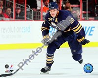 Paul Gaustad 2009-10 Action Fine-Art Print