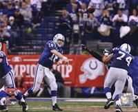 Peyton Manning 2009 AFC Championship Game Action Fine-Art Print