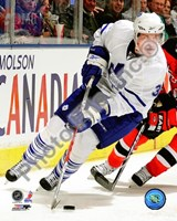 Dion Phaneuf 2009-10 Action On Ice Fine-Art Print