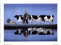 Delta Cows Fine-Art Print