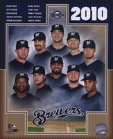 2010 Milwaukee Brewers Team Composite Fine-Art Print