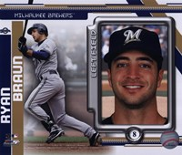 Ryan Braun 2010 Studio Plus Fine-Art Print