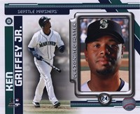 Ken Griffey Jr. 2010 Studio Plus Fine-Art Print