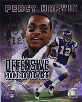 Percy Harvin Offensive Rookie Of The Year Composite Fine-Art Print