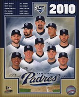2010 San Diego Padres Team Composite Fine-Art Print