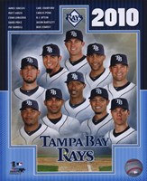 2010 Tampa Bay Rays Team Composite Fine-Art Print