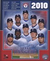 2010 Texas Rangers Team Composite Fine-Art Print