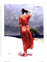 Beachside Stroll Fine-Art Print