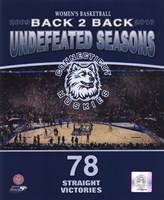 2010 University of Connecticut Huskies Women's Basketball Back to Back Undefeated Seasons Fine-Art Print