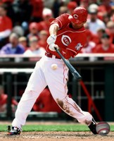 Joey Votto 2010 Action Fine-Art Print