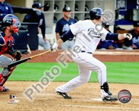 Adrian Gonzalez 2010 Action On The Field Fine-Art Print
