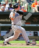 Travis Snider 2010 Action Fine-Art Print
