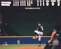 Ubaldo Jimenez 2010 baseball Fine-Art Print