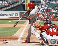 Jimmy Rollins 2010 Action Fine-Art Print