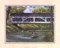 Ducks on the River Fine-Art Print
