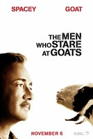 The Men who Stare at Goats - style B Fine-Art Print