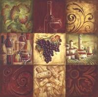 Tuscan Wine II Framed Print