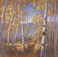 Fall Aspen II - mini Fine-Art Print