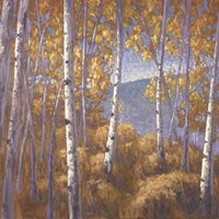Fall Aspen I - mini Fine-Art Print