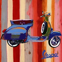 Pop Vespa II Fine-Art Print