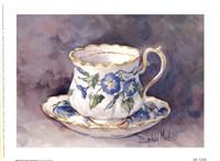 Morning Glory Teacup Fine-Art Print