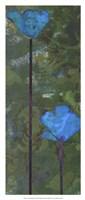 Teal Poppies III Fine-Art Print