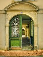 Weathered Doorway II Fine-Art Print